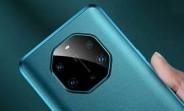 Surface de la boîte de vente au détail Huawei Mate 40 Pro +, rendu de la coque aussi