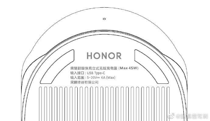 Le chargeur sans fil 50W pour le Honor V40 est certifié par TUV Rheinland