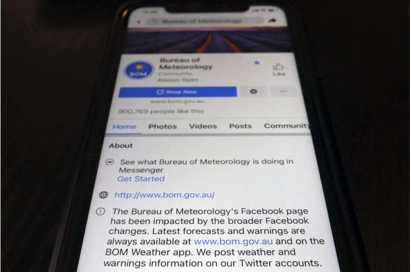 Le dirigeant australien exhorte Facebook à lever son blocus de nouvelles