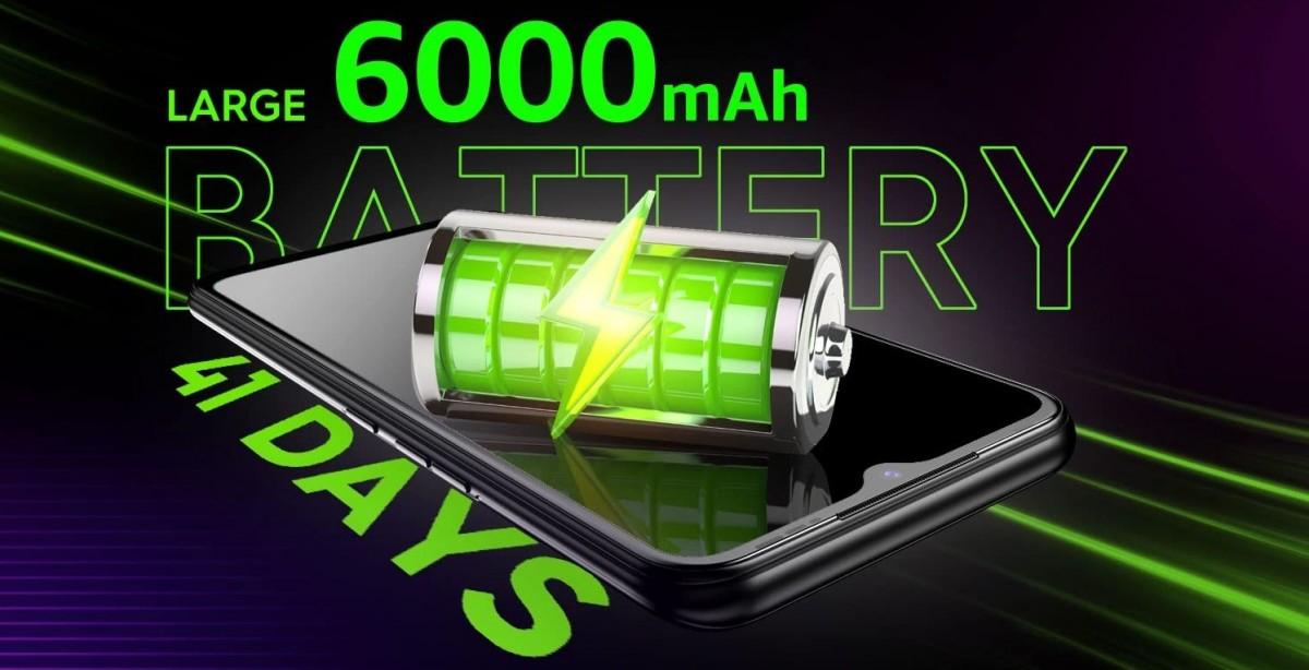 Tecno Spark 7 arrive le 9 avril avec une batterie de 6000 mAh