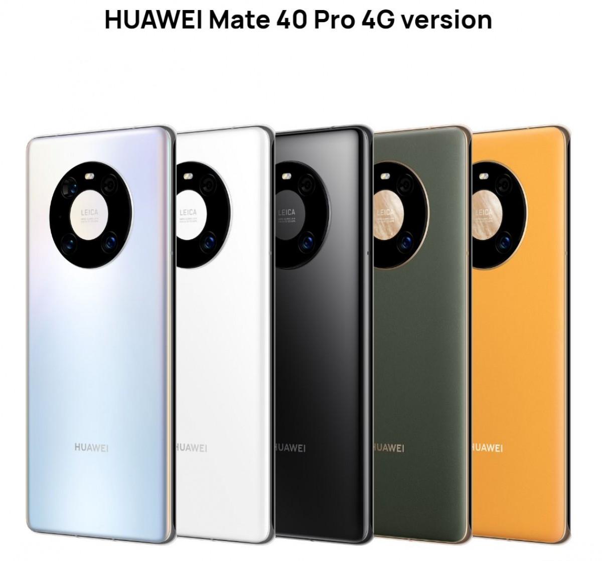 Huawei Mate 40 Pro 4G et Mate X2 4G arrivent en Chine