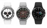 Samsung Galaxy Watch4 Classic fuit dans toute sa splendeur, lunette tournante en remorque