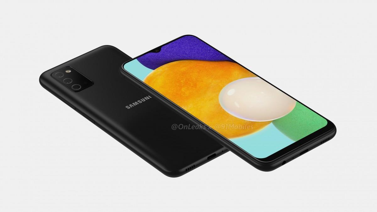 Le rendu du Samsung Galaxy A03 a fuité