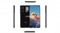 Xiaomi Mi Mix 4 rend montrant un affichage secondaire à l'arrière