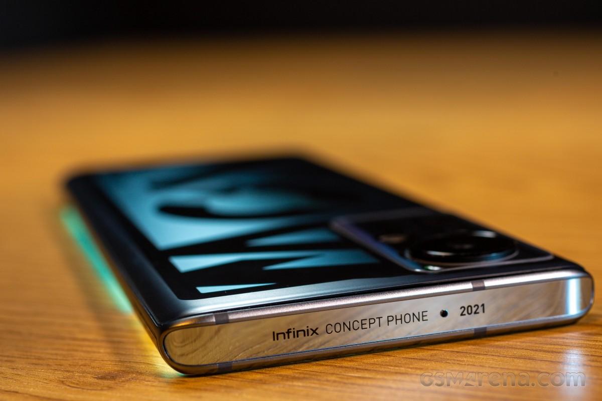 Ce téléphone concept démontre les technologies qu'Infinix développe pour les futurs produits