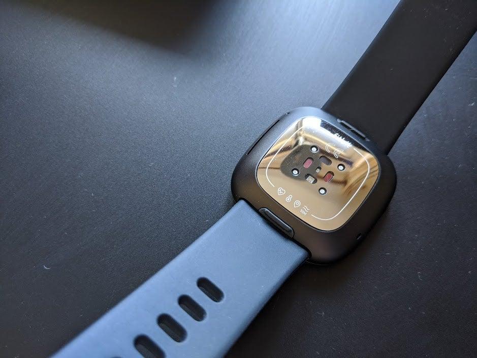 Fitbit Sense dos de la montre