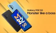 Samsung Galaxy M32 5G annoncé : Quad camera Dimensity 720 et 48MP