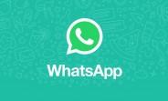 Les réactions aux messages arrivent sur WhatsApp