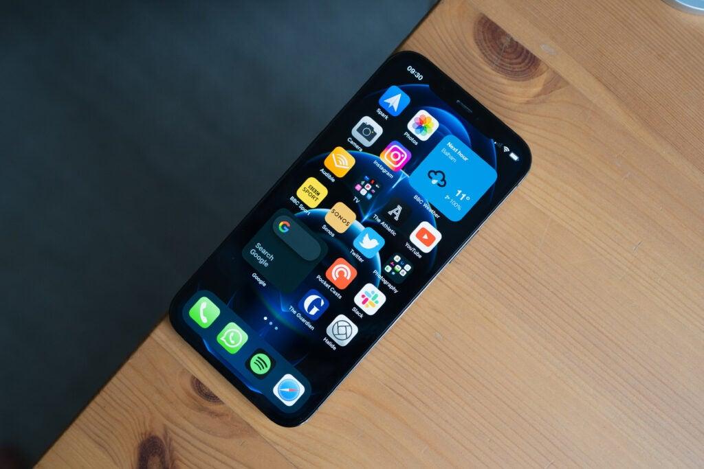 Tableau iPhone 12 Pro