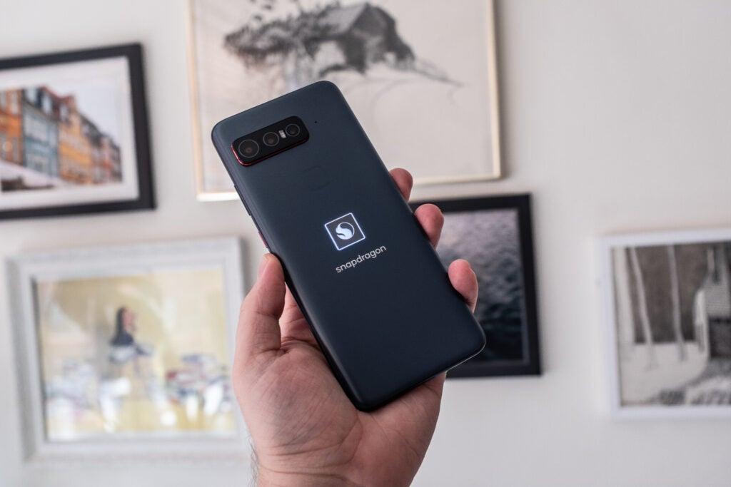 Logo lumineux Snapdragon Phone