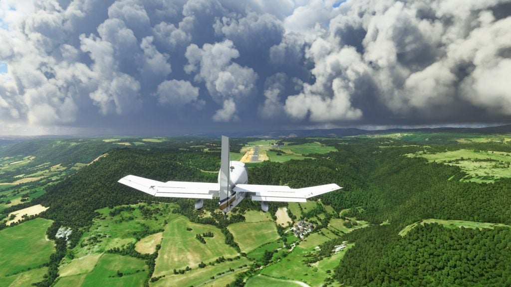 Simulateur de vol Microsoft