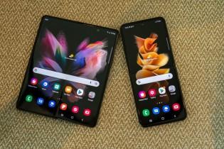 Samsung Galaxy Z Fold3 5G et Z Flip3 5G : déplié