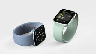 Rendus Apple Watch Series 7 (Source : @RendersbyIan)