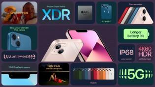 Points forts : iPhone 13 et 13 mini