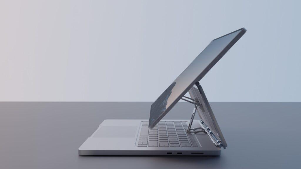Rendu Microsoft Surface Book 4