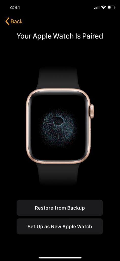 appairer Apple Watch Votre Apple Watch est appairée