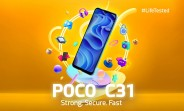 Les spécifications clés du Poco C31 confirmées avant le dévoilement du 30 septembre