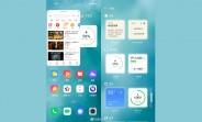 Widgets de détails de premier aperçu de Realme UI 3.0 et basculement des paramètres rapides repensés