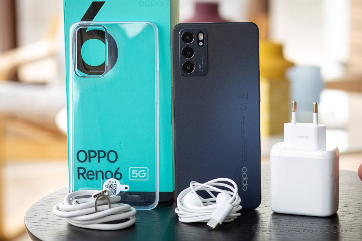 Avis Oppo Reno6 5G