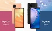 Le Sharp Aquos zero6 a un écran OLED IGZO 240 Hz et est l'un des téléphones 5G les plus légers à ce jour